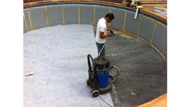 Sps piscine chantiers entretient piscine 06 et 83 for Pose feutre piscine